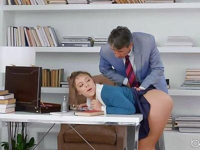 Gia Derza is A catch Anal Secretary!
