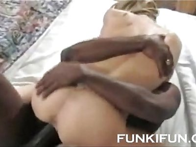 BBC FUCKS HARD HES BLONDE WHORE STEPSISTER - YOU CAN Dear one HER TOO