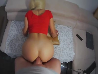 For him a cozy anal doggystyle.. For me a painfully swollen asshole